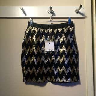 Ladakh Sequinned Skirt