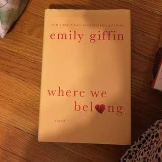 Book: Where We Belong