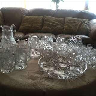 Pinwheel Crystal set