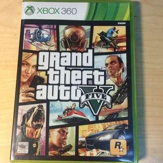 Xbox360 GTA5 俠盜獵車手5