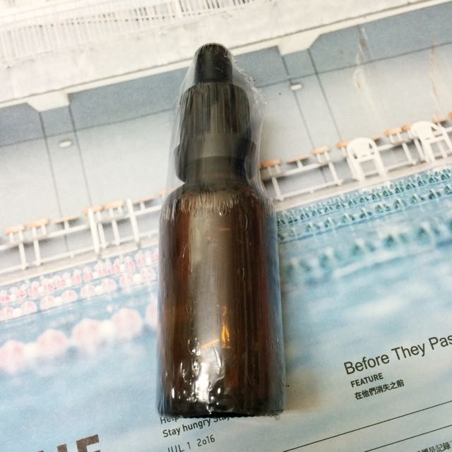 滴管精油空小棕瓶
