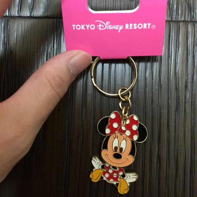 日本東京迪士尼鑰匙圈