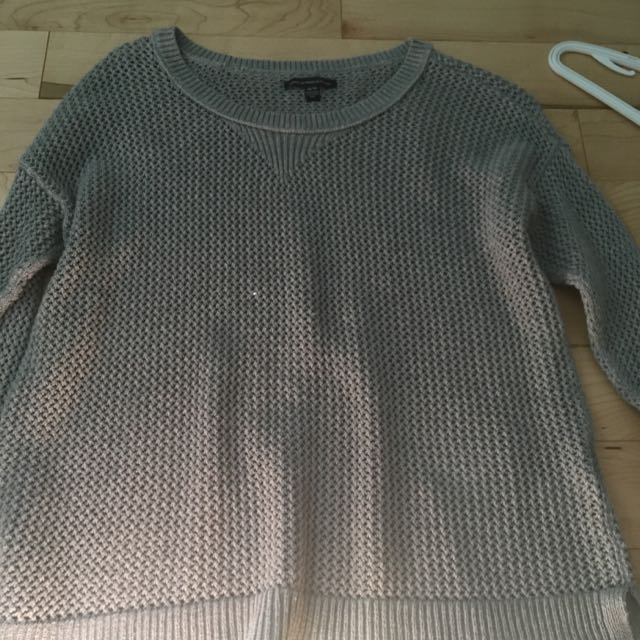 American Eagle Cable Knot Sweater