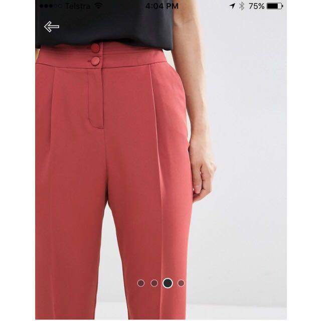 ASOS High Waisted Pants