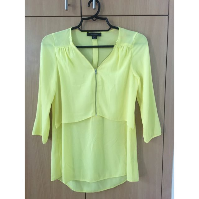 Atmosphere Yellow Top