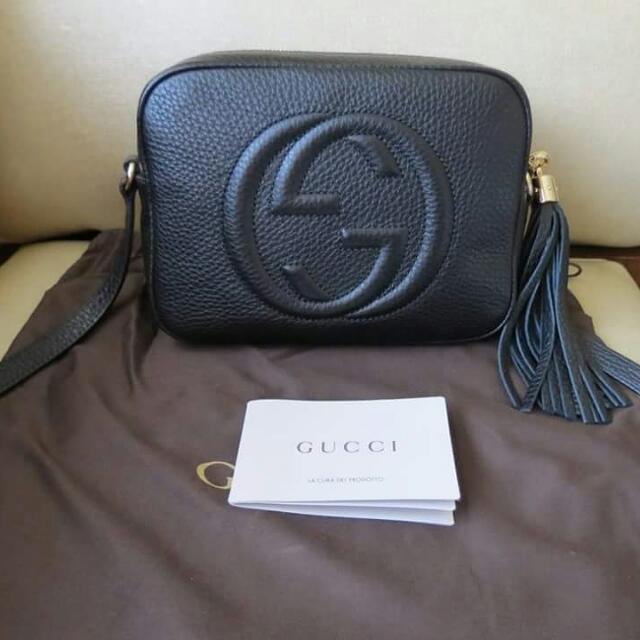 Auth Gucci Soho Disco Bag