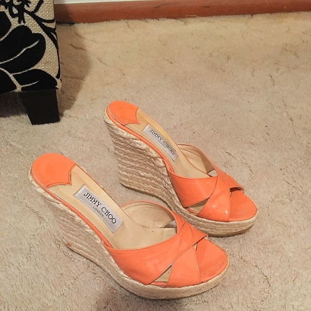 Authentic Jimmy Choo Phyllis Wedges