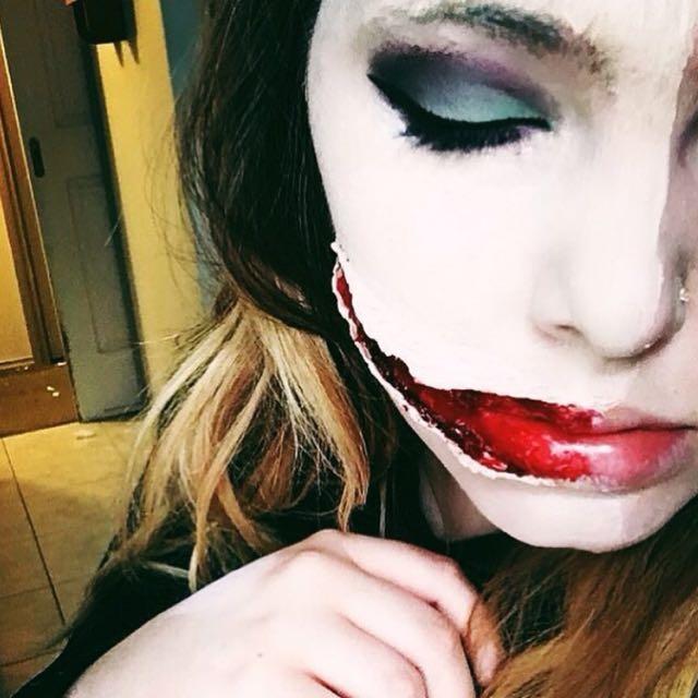 Beauty An Sfx Makeup Artist Almost Halloween Guys :)