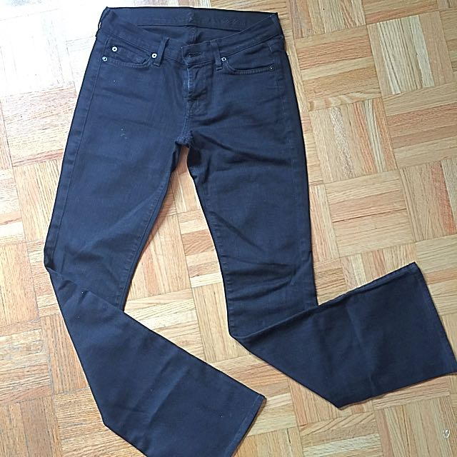 Black 7 All Mankind Jeans