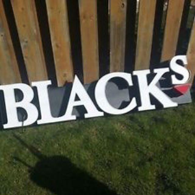 Blacks Photography Company Display LED Sign