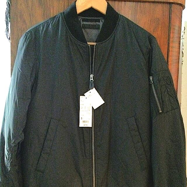brand new MA-1 bomber jacket