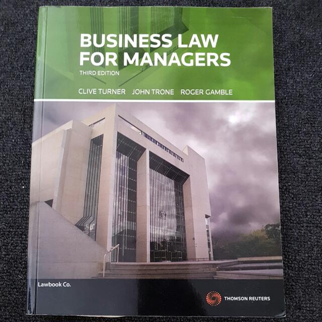 Business Law For Managers (3rd Edition)