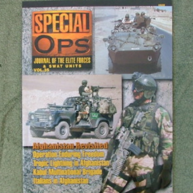 Concord SPECIAL OPS_JOURNAL OF THE ELITE FORCES & SWAT UNITS VOL.3