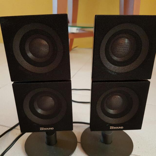 Creative T6 speakers (W/O Subwoofer)