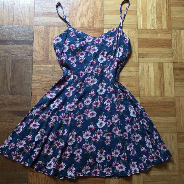 Cute Floral Summer Dress