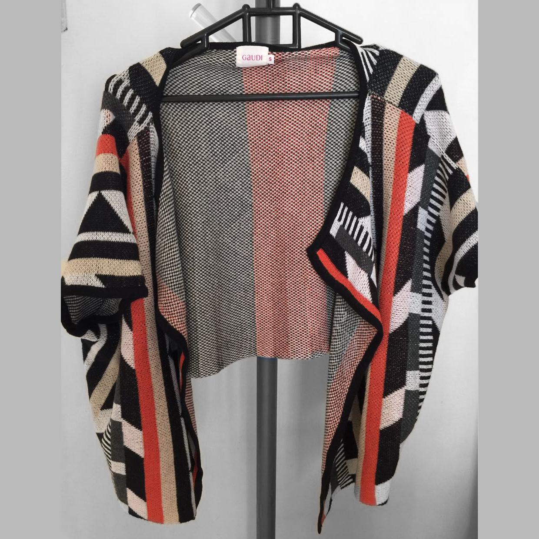 GAUDI cardigan outerwear pattern luaran berpola rajut mozaic