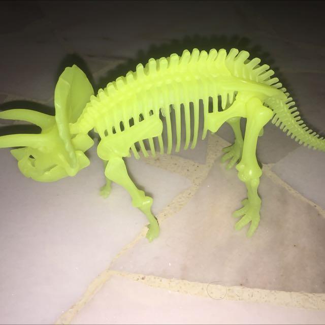 Glow In The Dark Dinosaur Figure