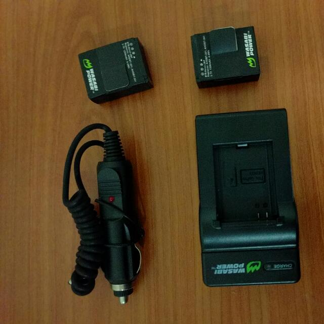 GoPro Extra Battery And Charger For Hero 3+/3