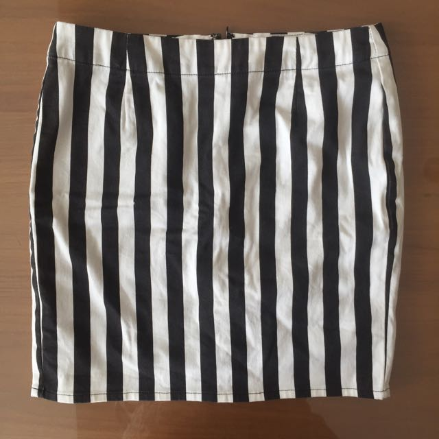 GU Striped Skirt