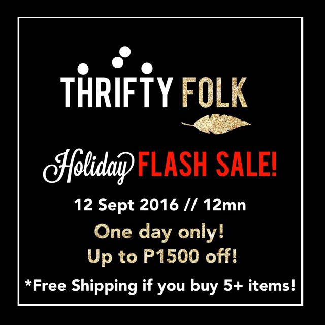 HOLIDAY FLASH SALE!