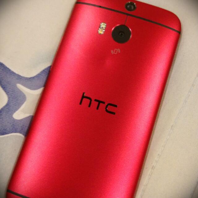 急售 HTC M8 紅色16G