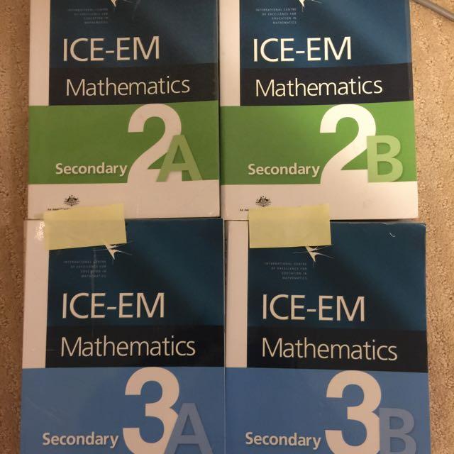 ICE-EM Math Textbooks