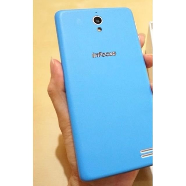InFocus M210 ~ 4.7 inches ~ 800 million pixels ~ 2350mAh ~ dual card dual standby ~