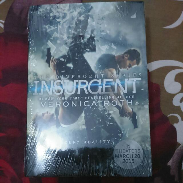 Insurgent by Veronica Roth [Imported Book | Hardcover]