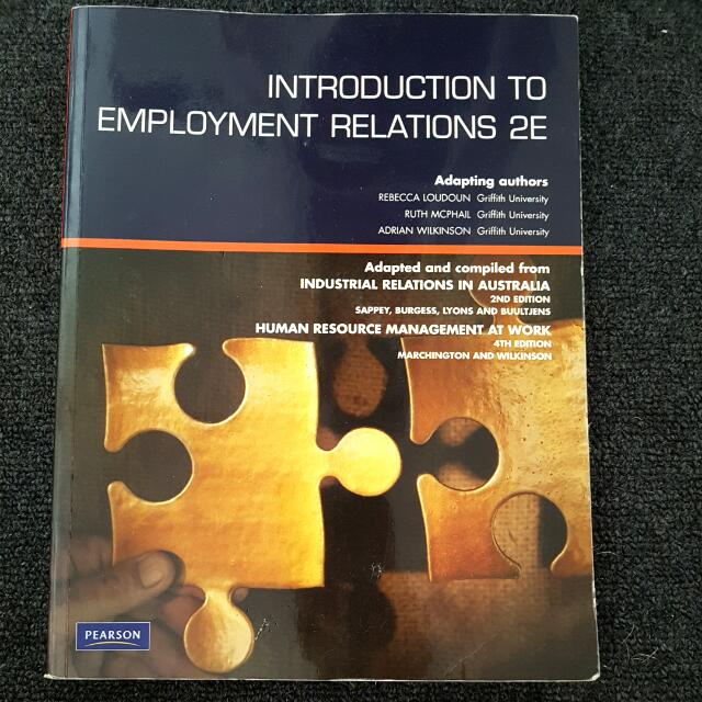 Introduction To Employment Relations