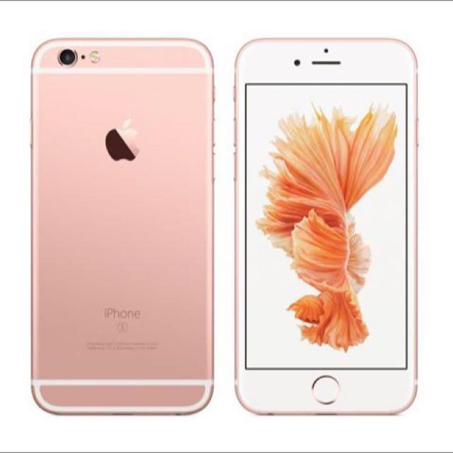 iPhone 6s (64G玫瑰金)