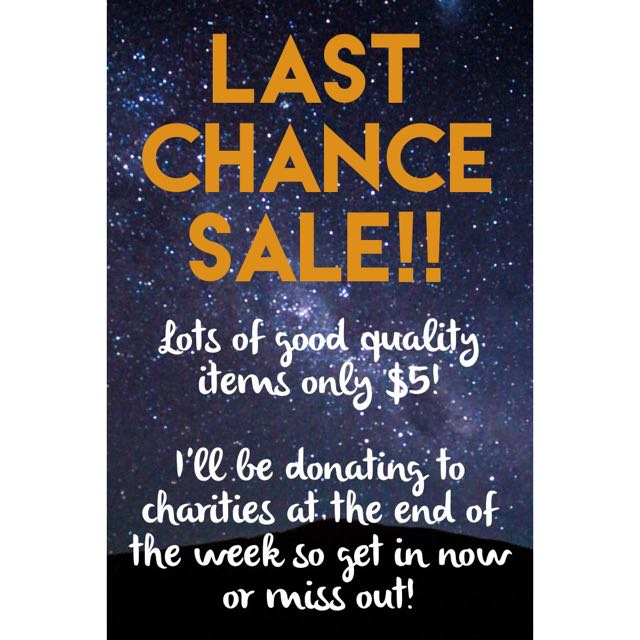 🔥LAST CHANCE ITEMS🔥