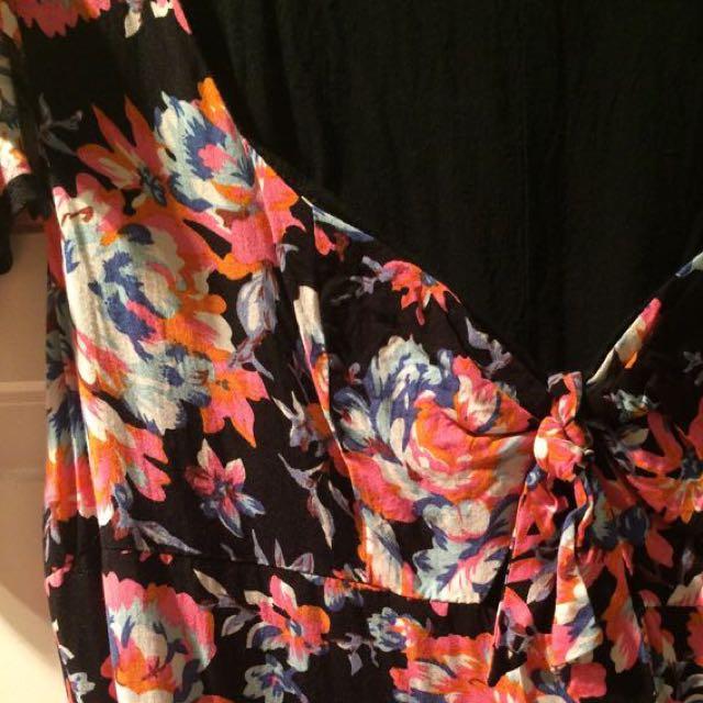 Lily Whyte Long Maxi Dress Sz 10