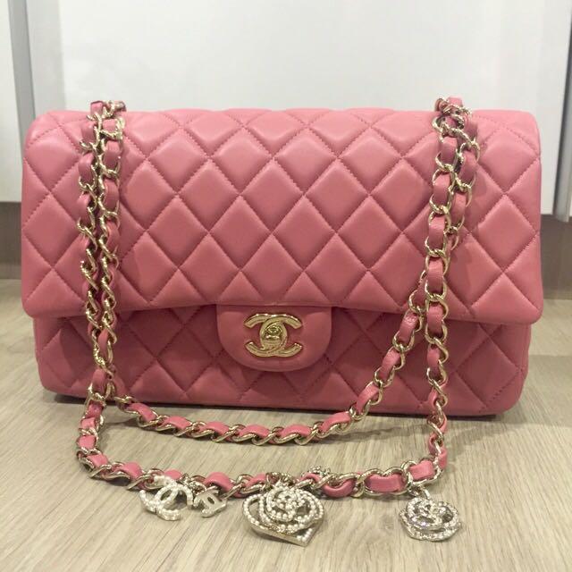 26cadcf77795 Limited Edition] Chanel Valentine's Medium Single Flap, Luxury, Bags ...