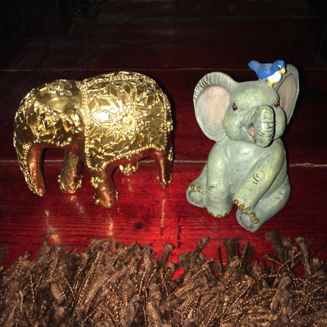 Little Elephant Statues