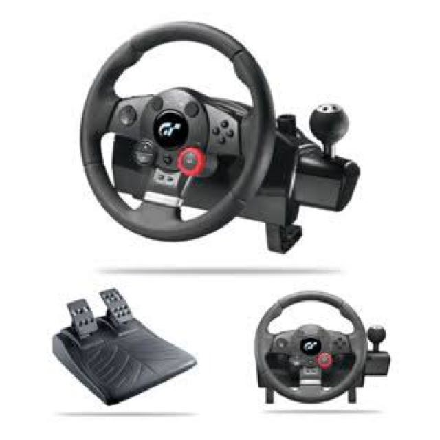 Logitech Steering Wheel Set
