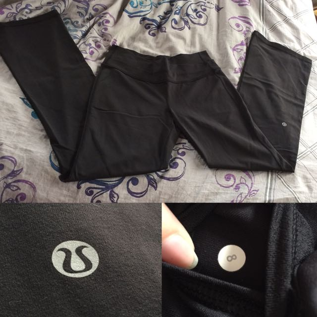 **RESERVED**LULULEMON Yoga Pants- Sz 8