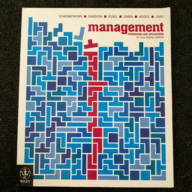 Management Foundations And Applications