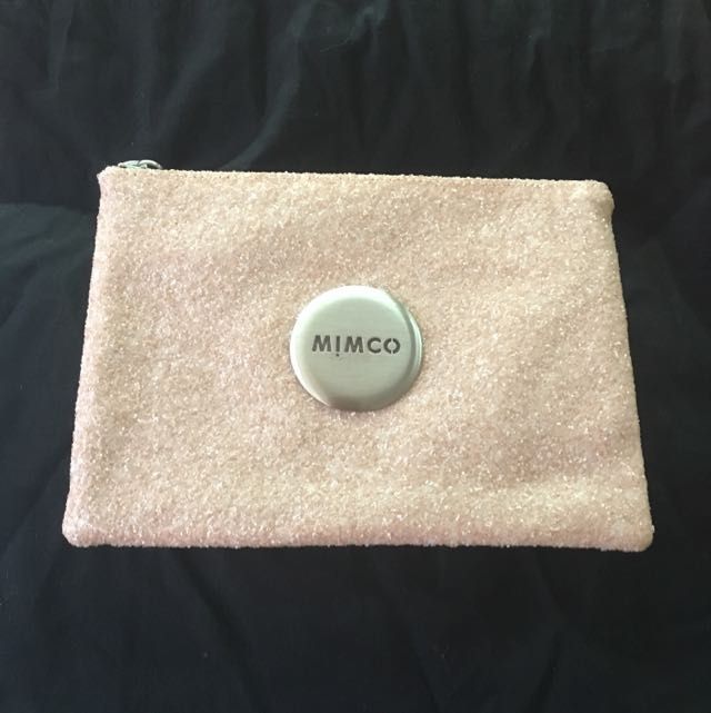 Mimco Dusty Pink Sparks Pouch