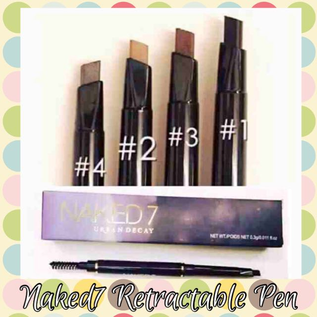Naked 7 Eyebrow pen retractable