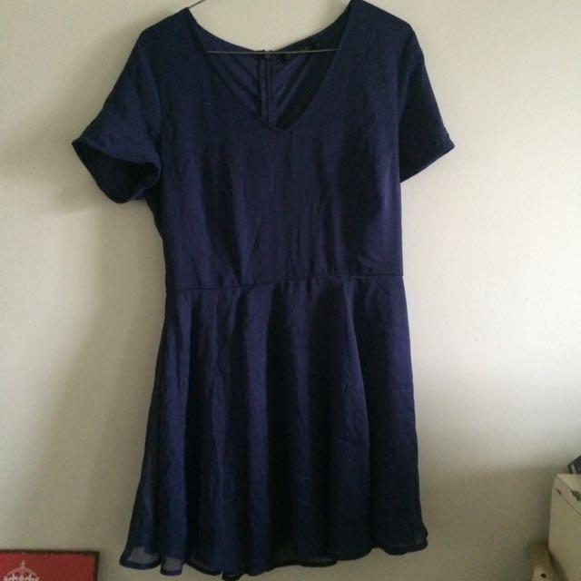 Navy Glassons Dress Size 12