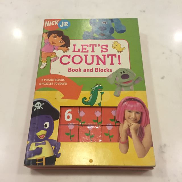 Nick Jr Let\'s Count!, Books & Stationery, Children\'s Books on Carousell