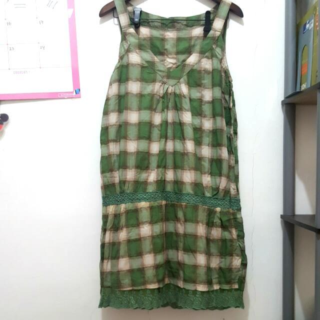 No Label Checkered Dress