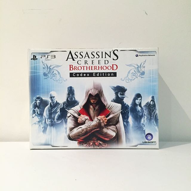Assassin's Creed Brotherhood Codex Edition - PS3