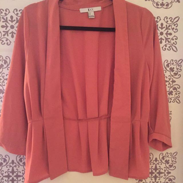 Pastel Pink Blazer
