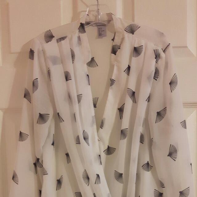 Pretty And Professional H&M Blouse