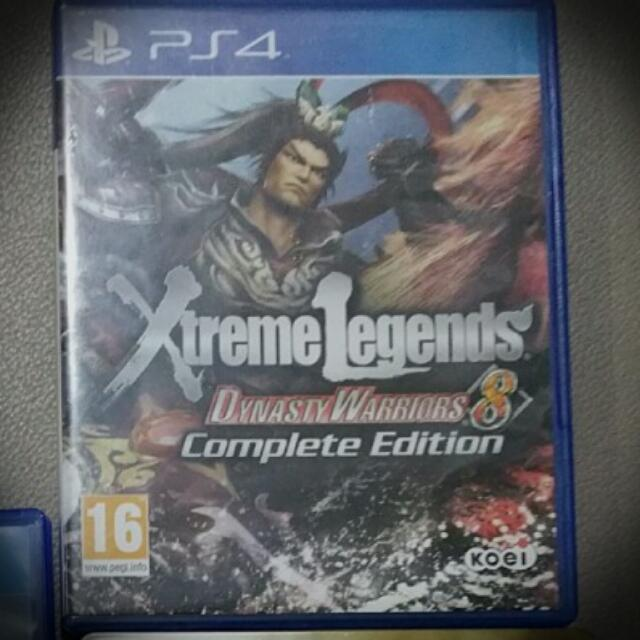 PS4 game-Dynasty Warriors