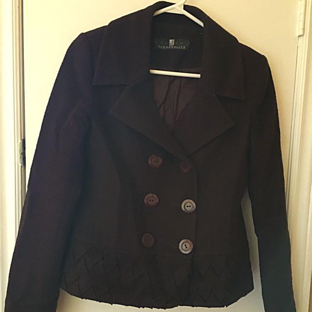 Purple Whool Jacket