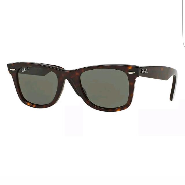Ray Ban RB2140 902/58 50mm Tortoise Polarized Lens Sunglasses