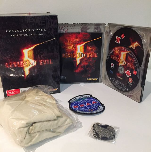Resident evil 5 collectors pack - PS3