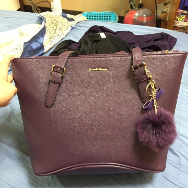 Samantha 紫色包包